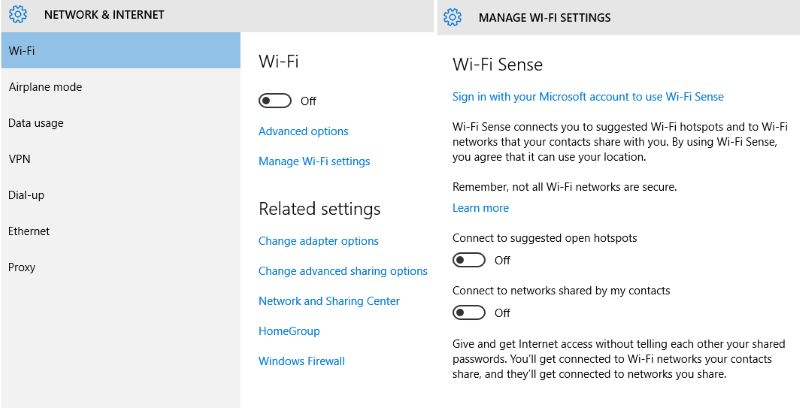 windows10 wifi network setup